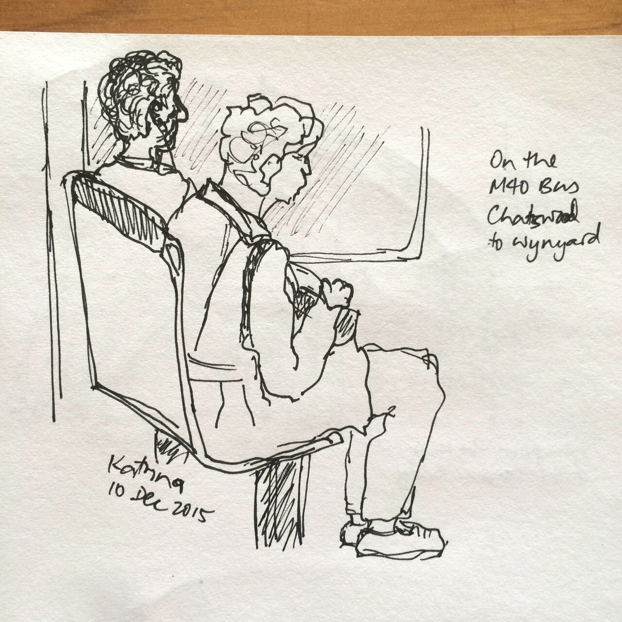 I've always struggled to sketch people