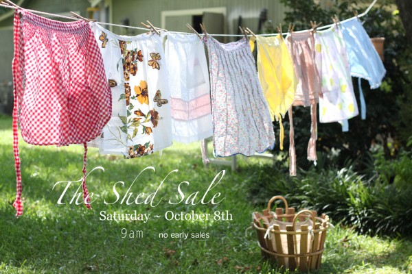shed sale flyer | thebrownshed.com