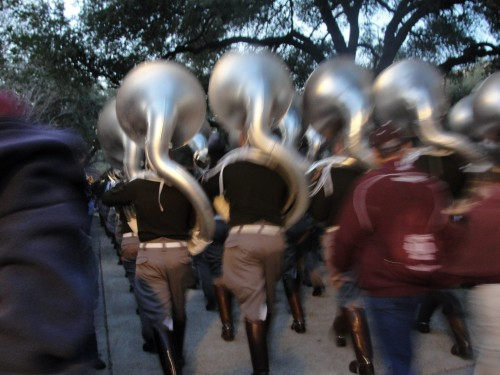 Aggie band   thebrownshed.com