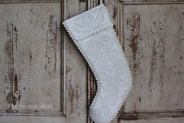 reverse applique stockings | thebrownshed.com