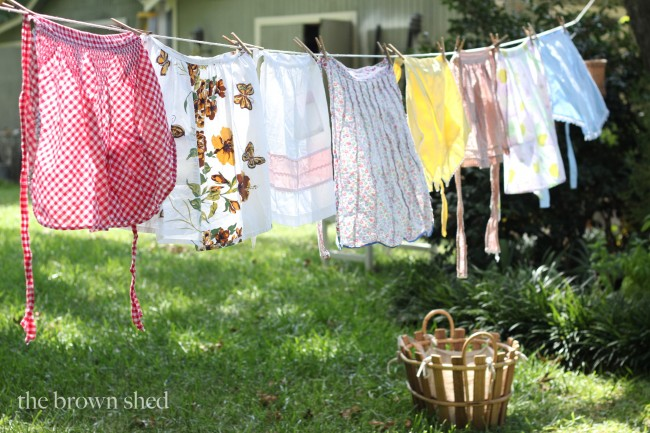 clothes line | thebrownshed.com