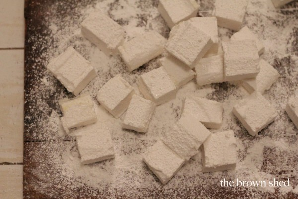 homemade marshmallows | thebrownshed.com