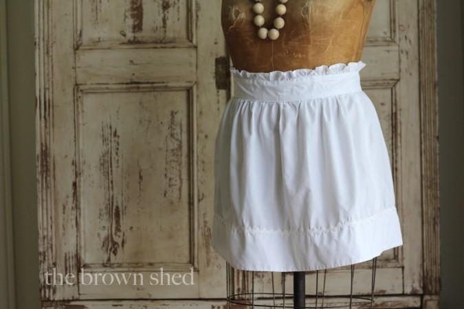 vintage apron | thebrownshed.com
