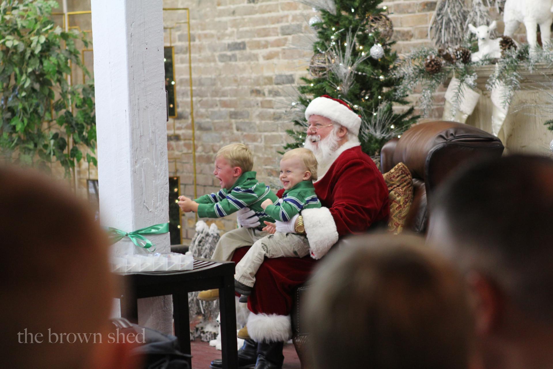 Santa | thebrownshed.com