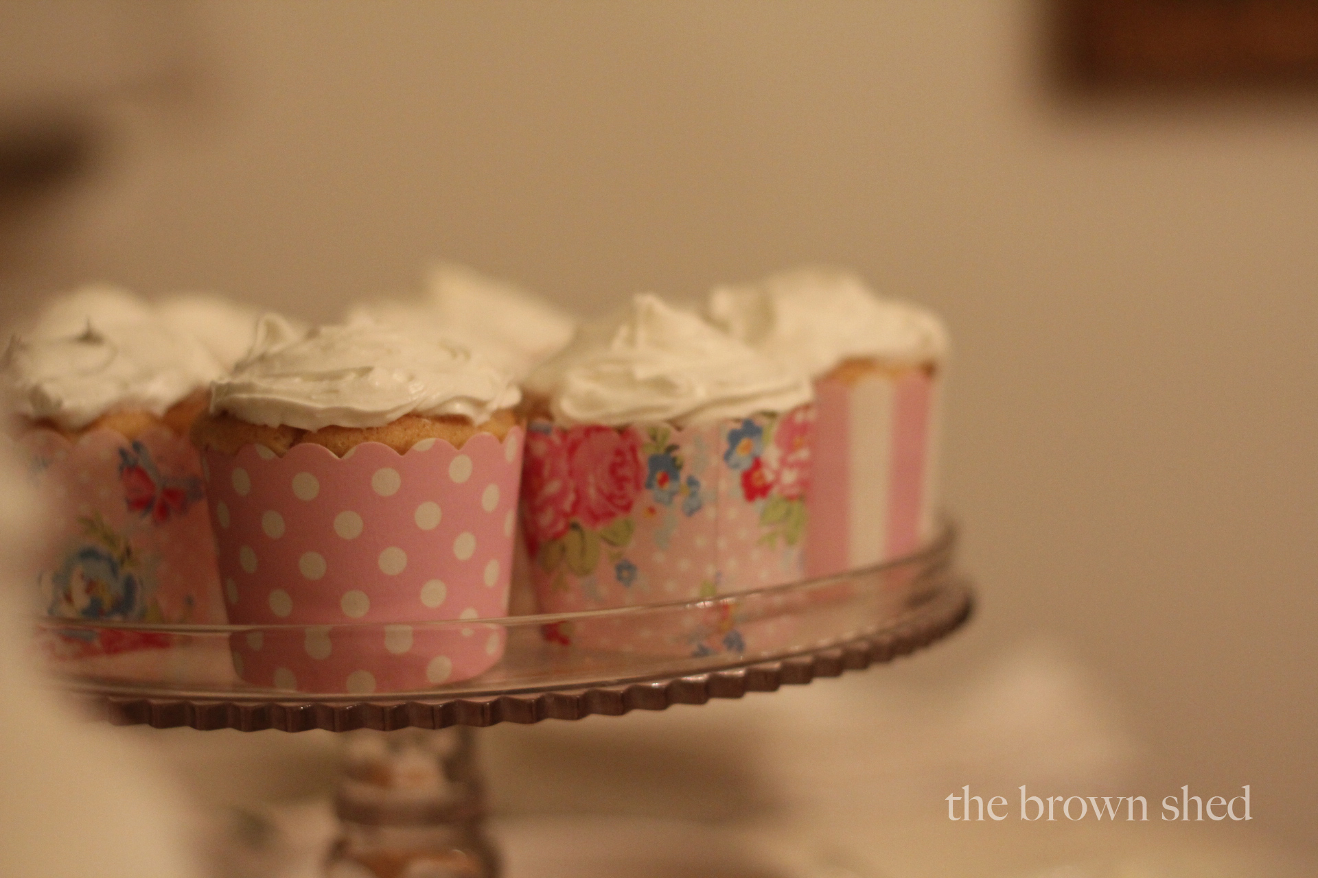 Valentine Party cupcakes | thebrownshed.com