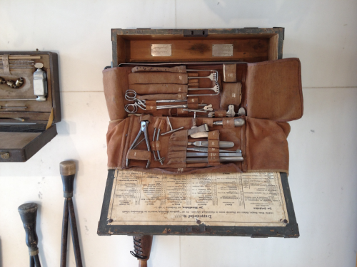 French army surgical kit - Musee Hisorial de la Grand Guerre