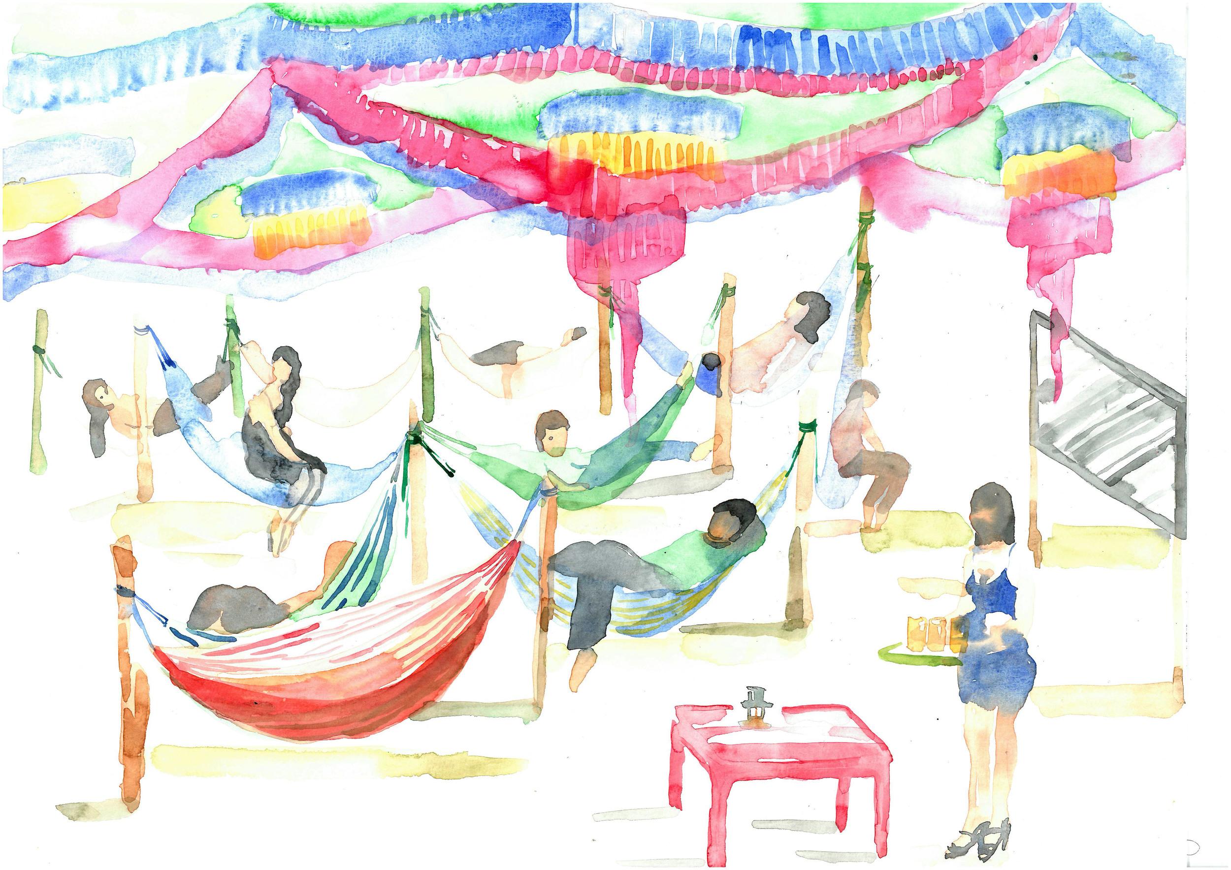 artlabor_Jarai Dew_hammock cafe 1