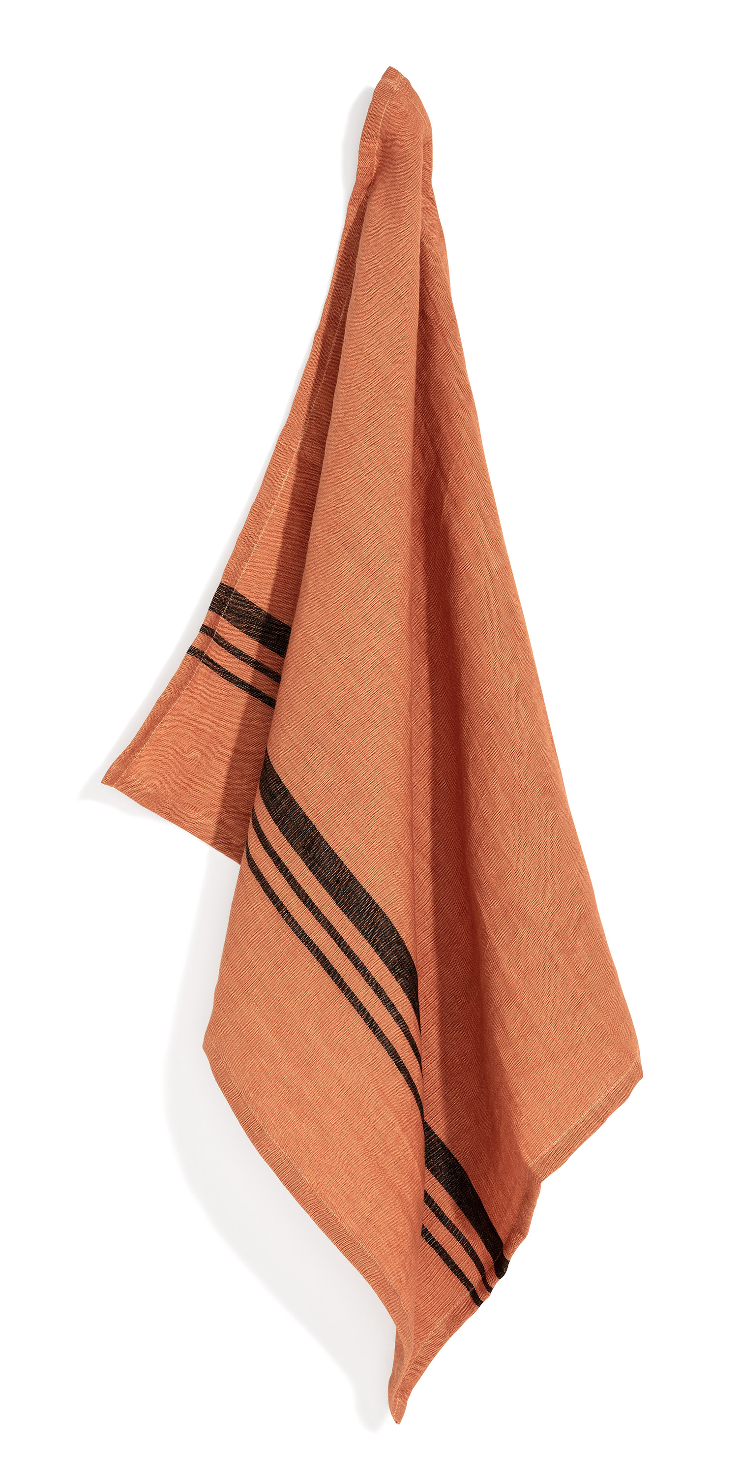 Leary towel strip dry terracotta 50x70