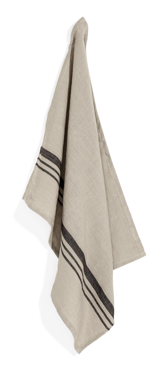 Leary towel sage stripe 50x70
