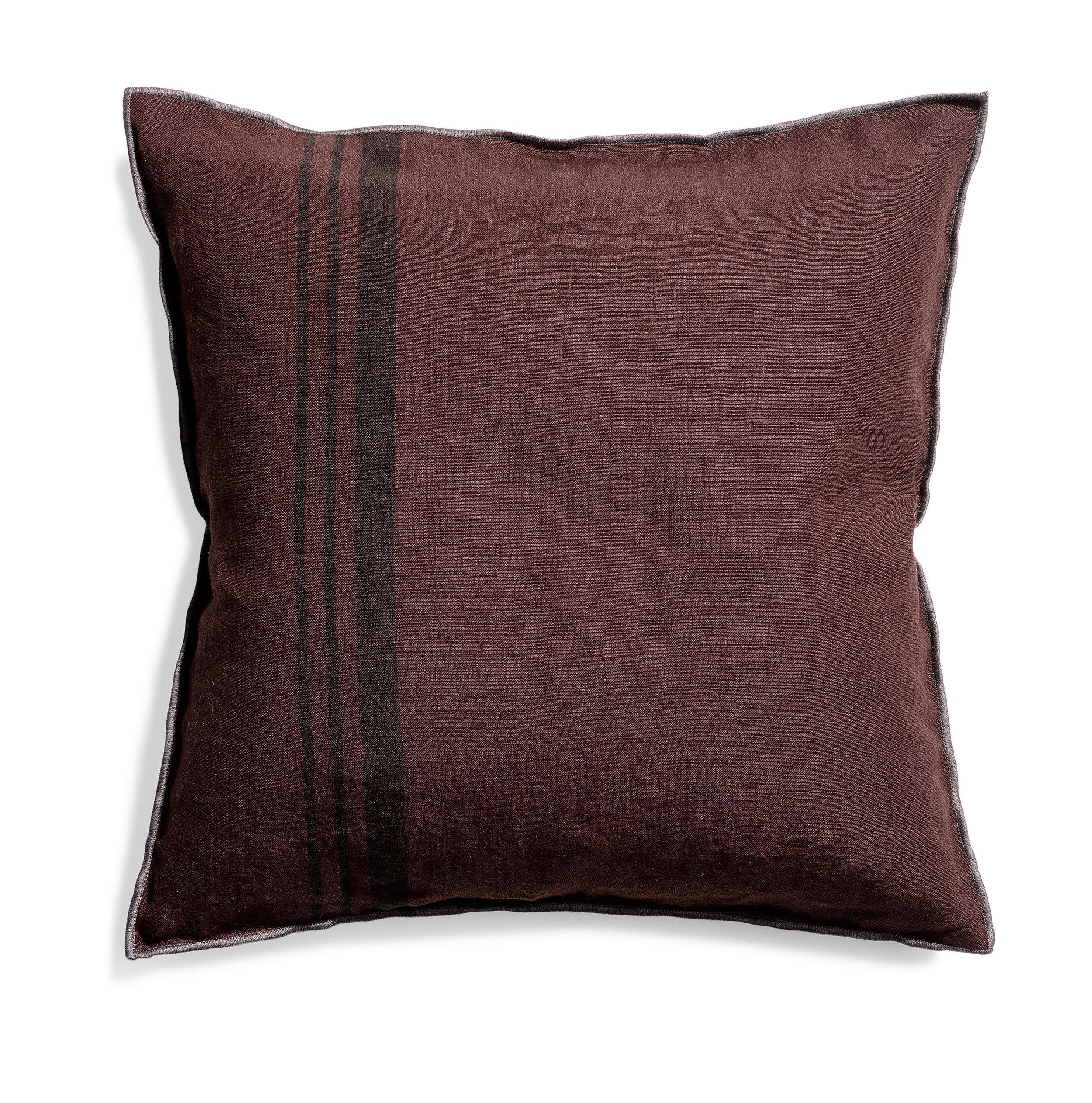 Loft cushion stripe hazy purple 50x50
