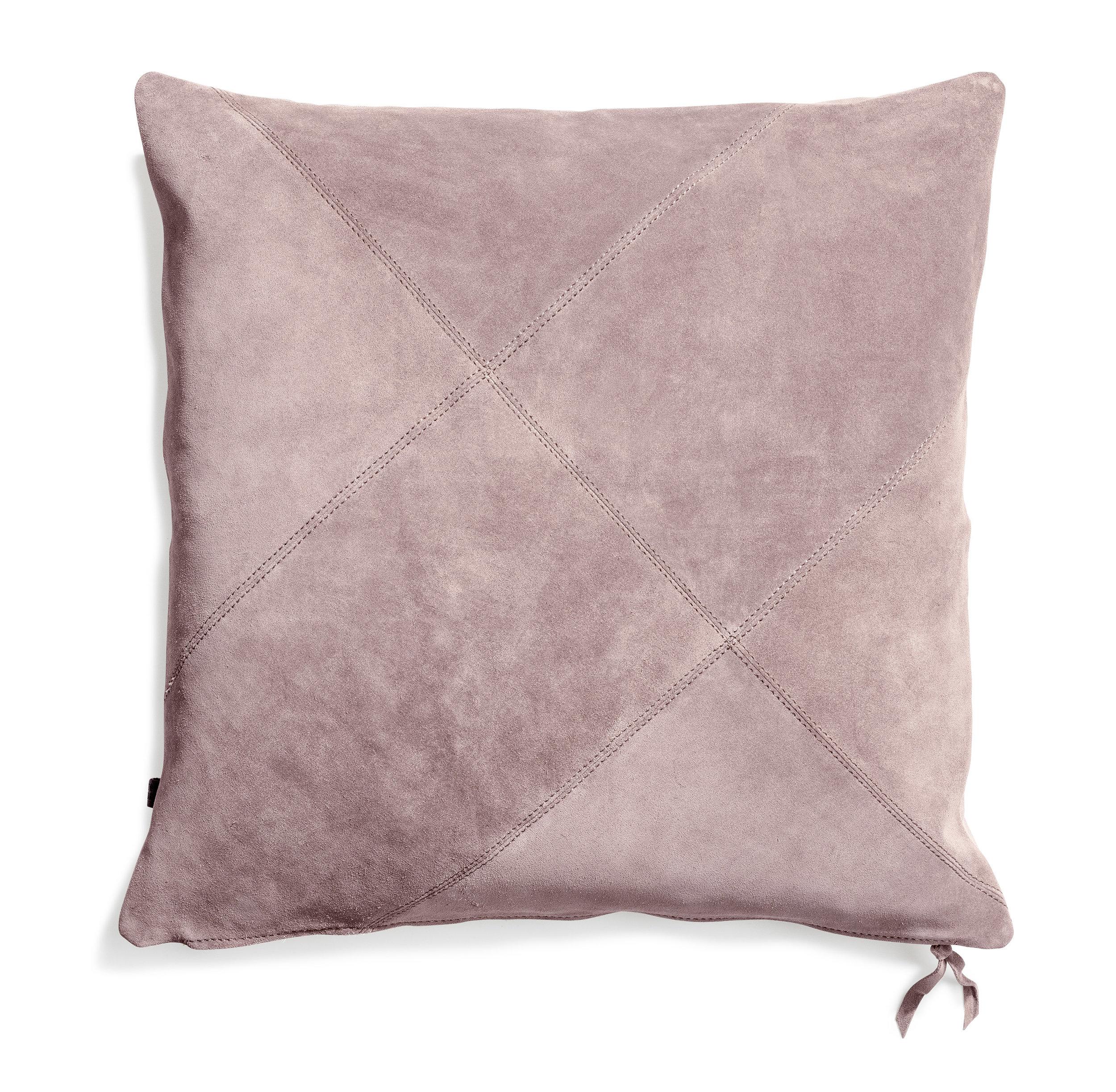 Rafety cushion Pale heather suede 50x50  Wrigley cushion Pale heather suede 60x60