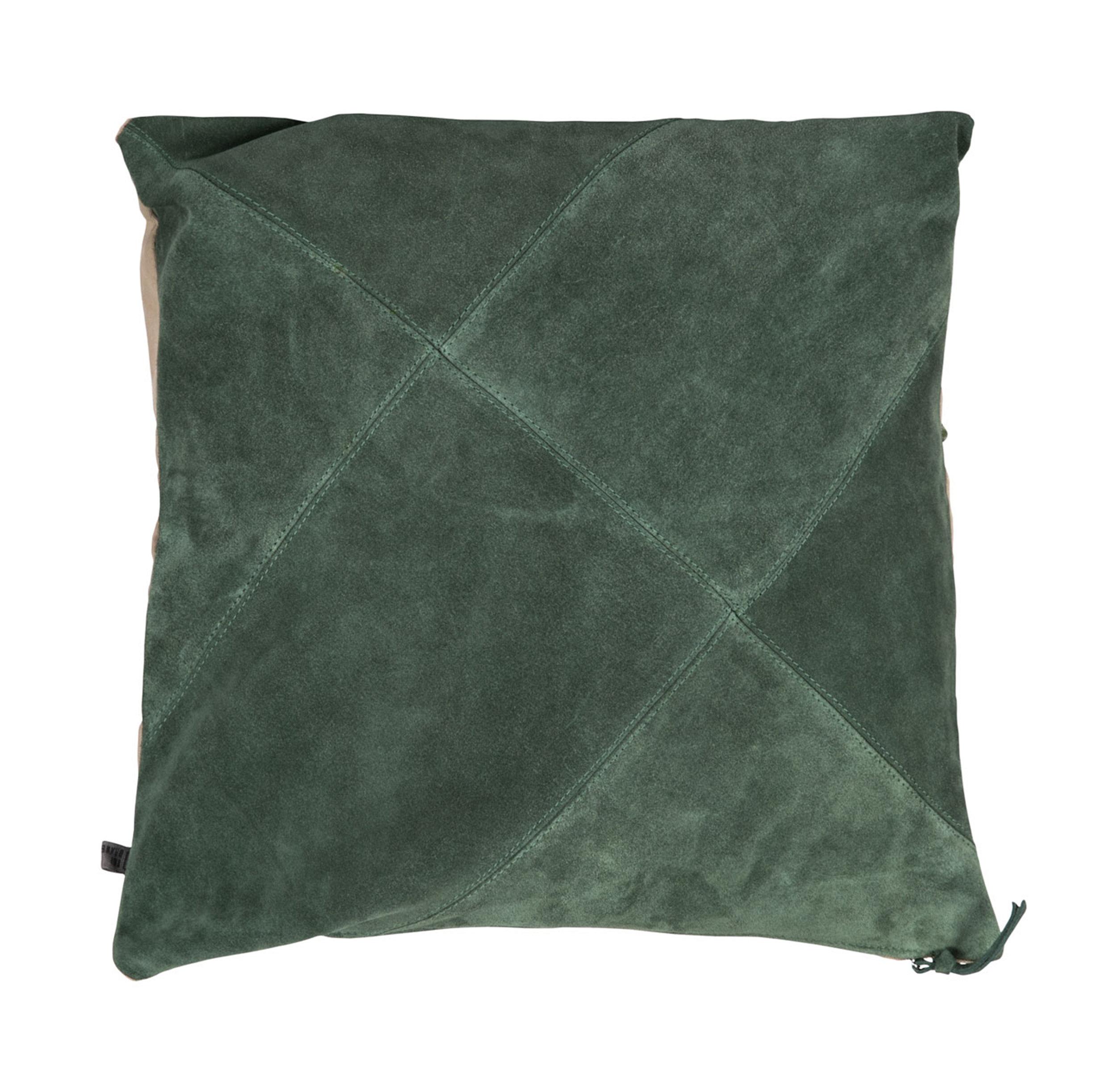 Rafety cushion Foggy green suede 50x50  Wrigley cushion Foggy green suede 60x60