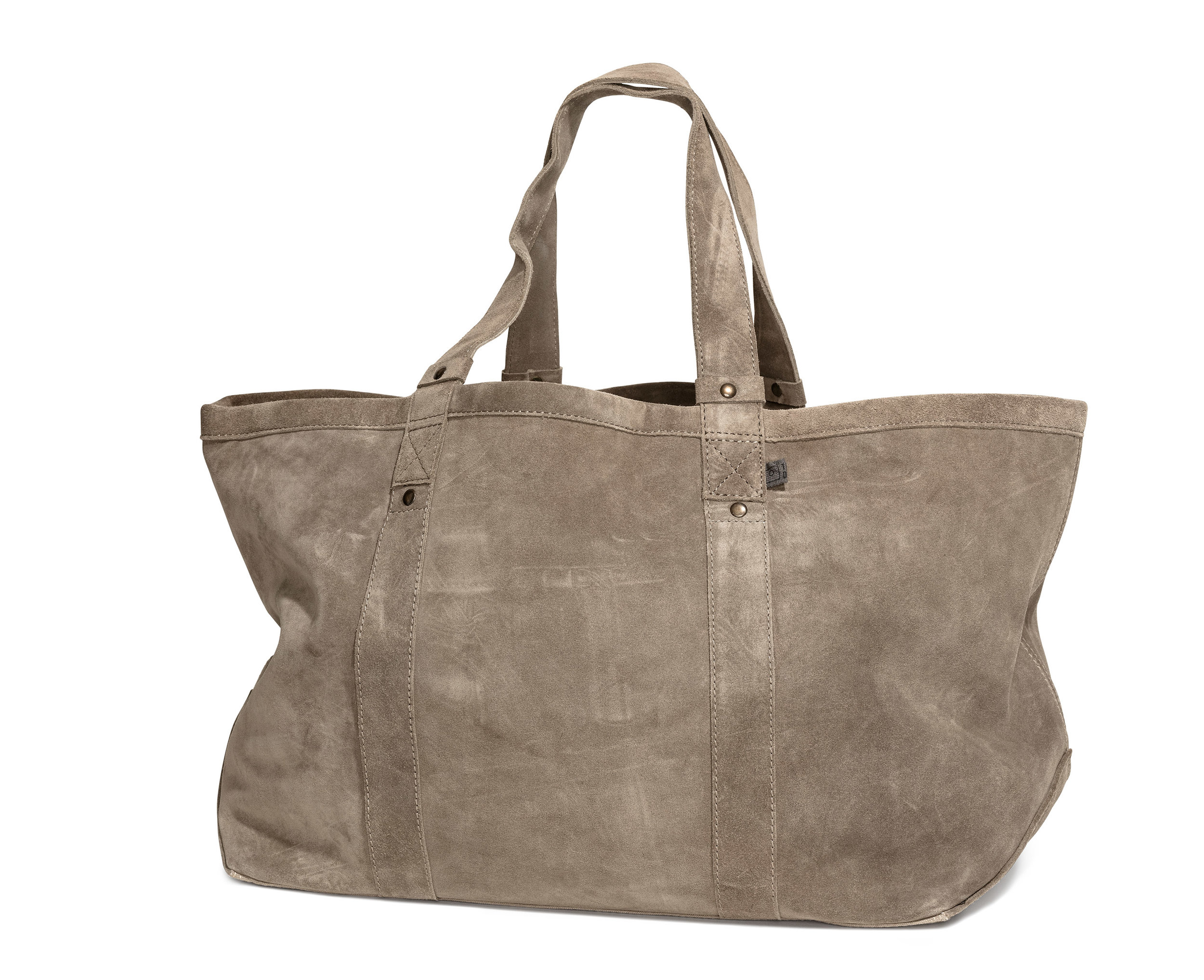 Foyers bag Stone suede