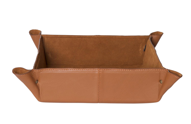Cairns basket leather cognac