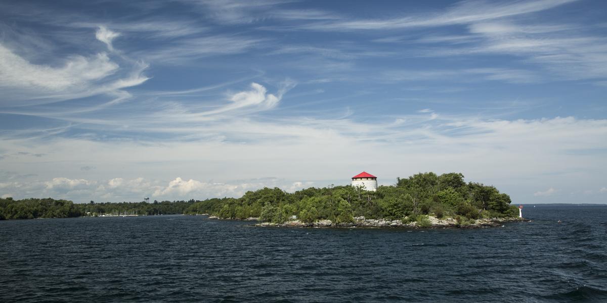 1000 Islands off Kingston Ontario