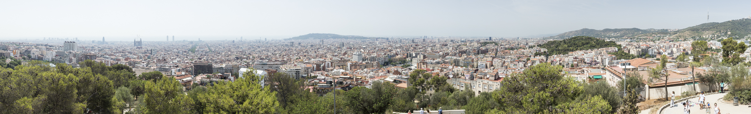 Barcelona from Park Guell