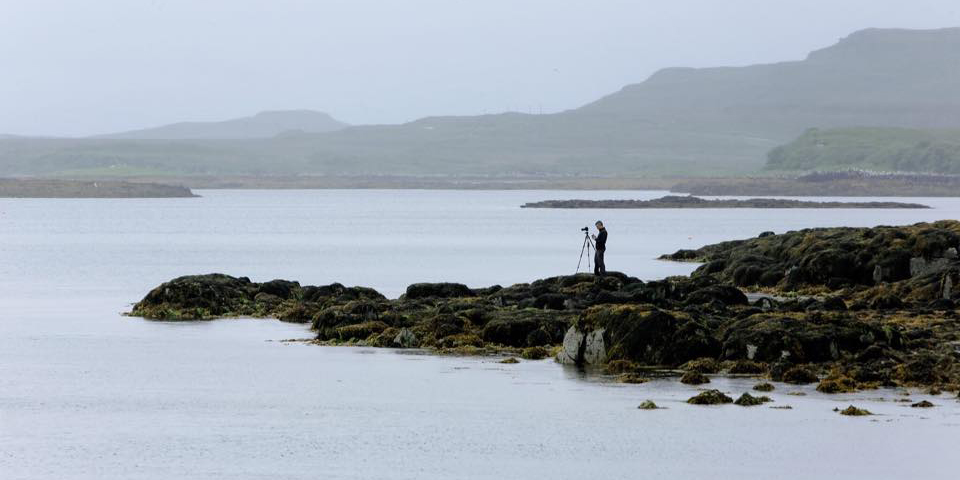 Shooting the Islands at Loch Dunvegan (Photo: Katherine Williams Photography)