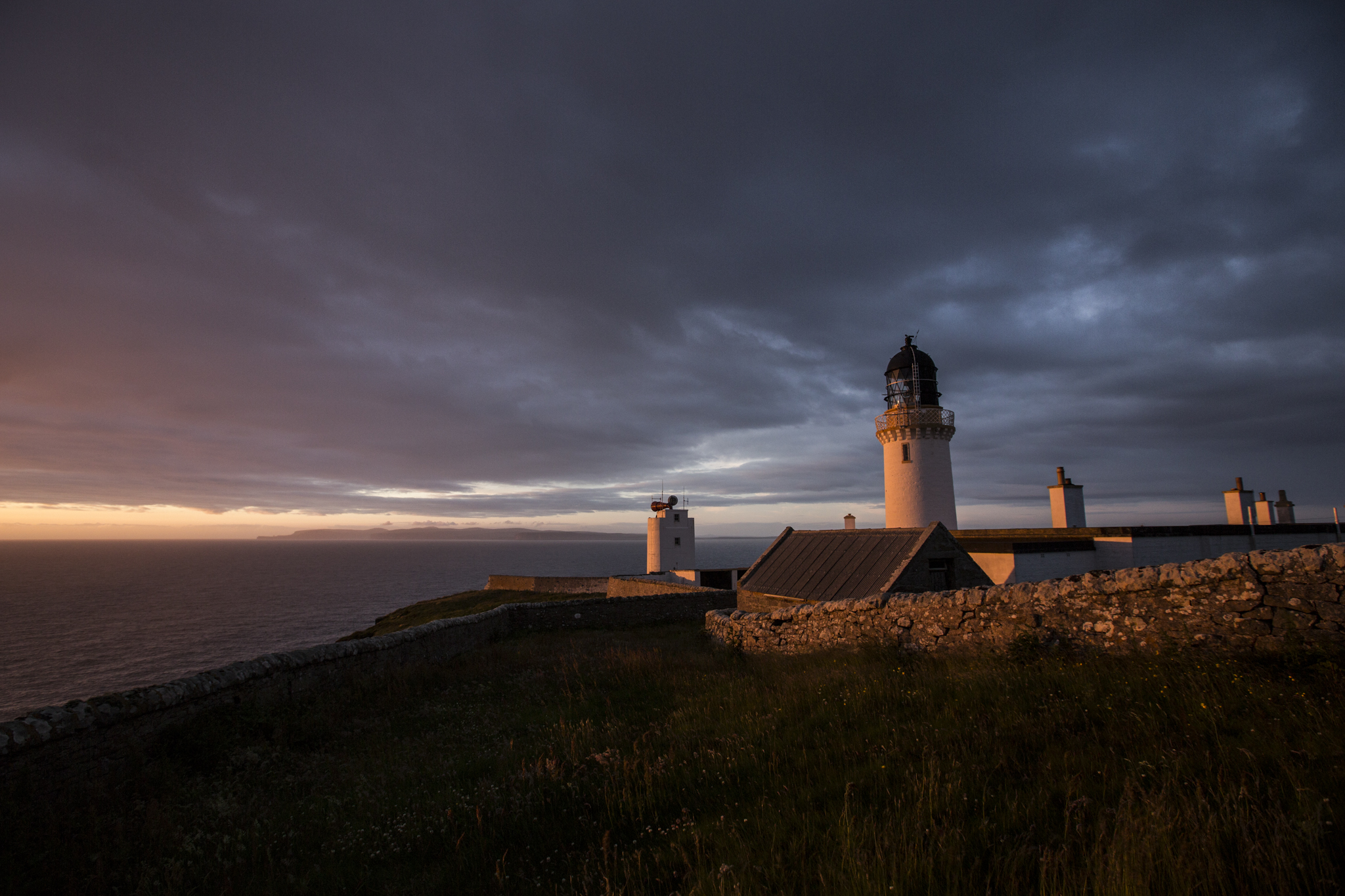 Lighthouse at Dunnet's Head