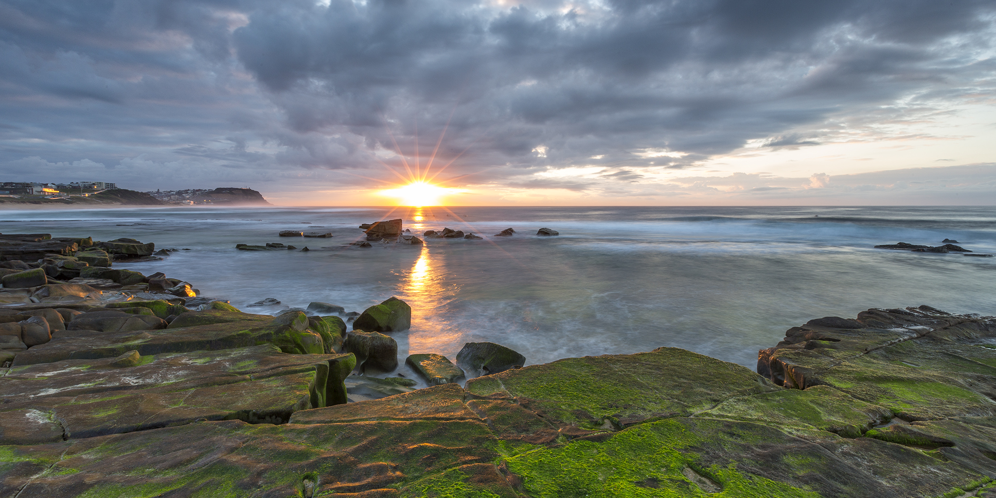 Sunrise over Merewether, Newcastle, NSW