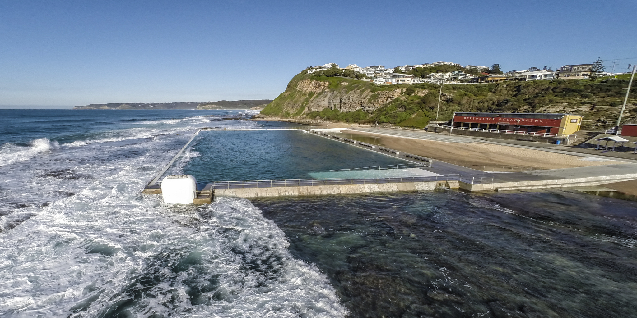 Merewether Baths looking South