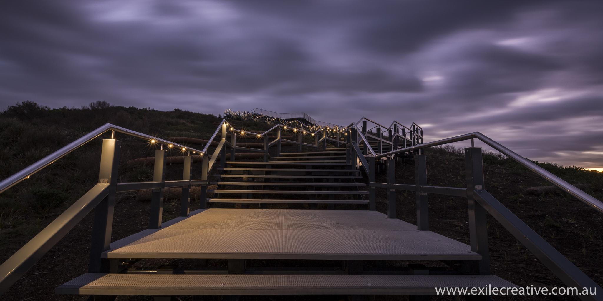 Newcastle's ANZAC Walk - South Elevation