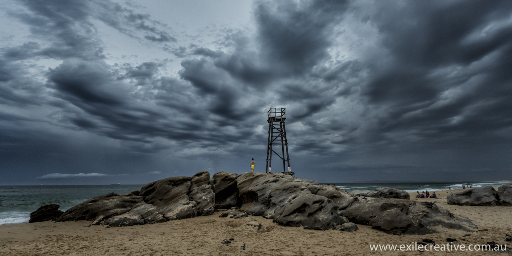 Storm Rolling in over Redhead