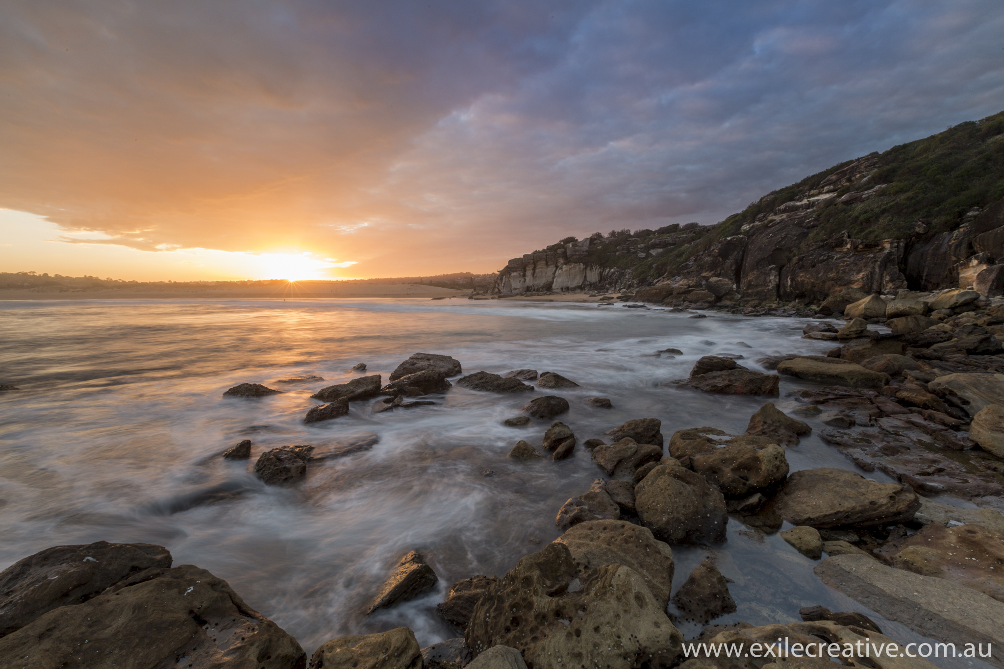 Sunset at North Curl Curl