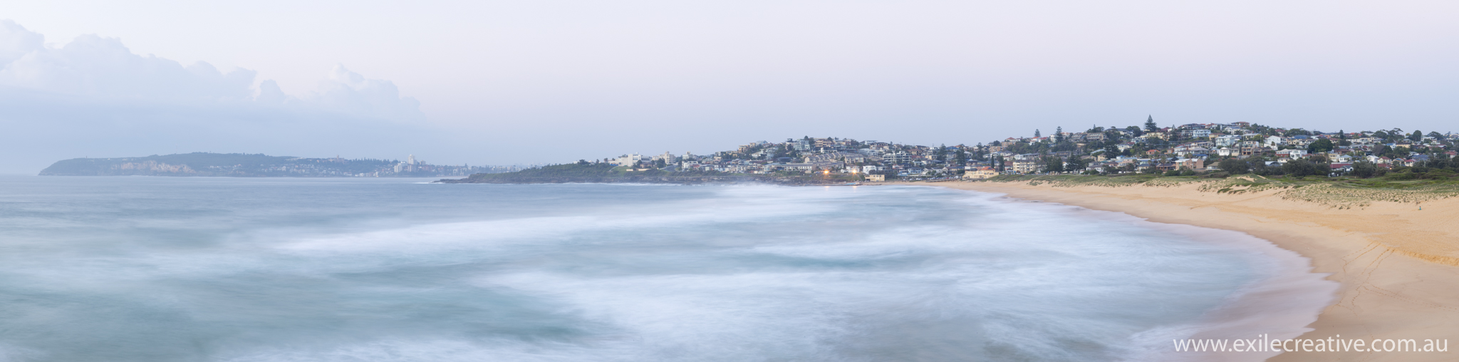 Looking South from North Curl Curl