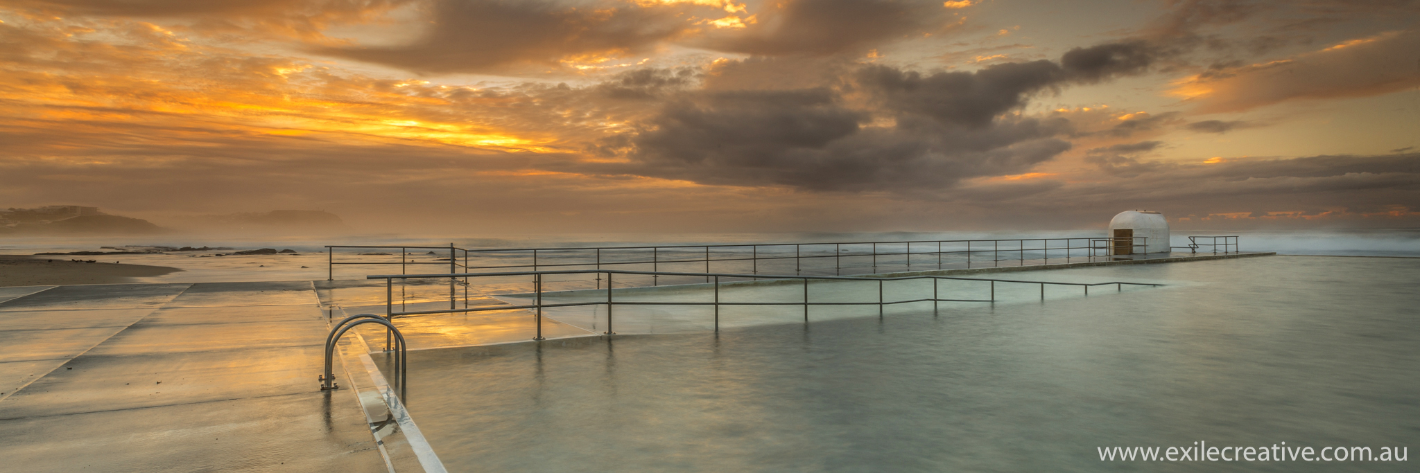 Sunrise at Merewether