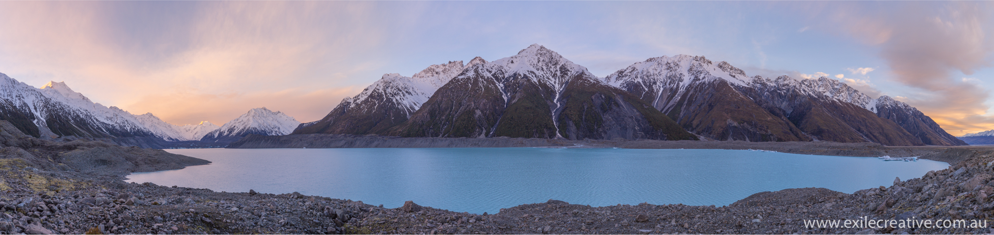 Tasman Lake!  Canon 5Dmiii, 16-35L III IS @ 35mm, ISO200, f/5.6, 1/100s  Stitched Pano