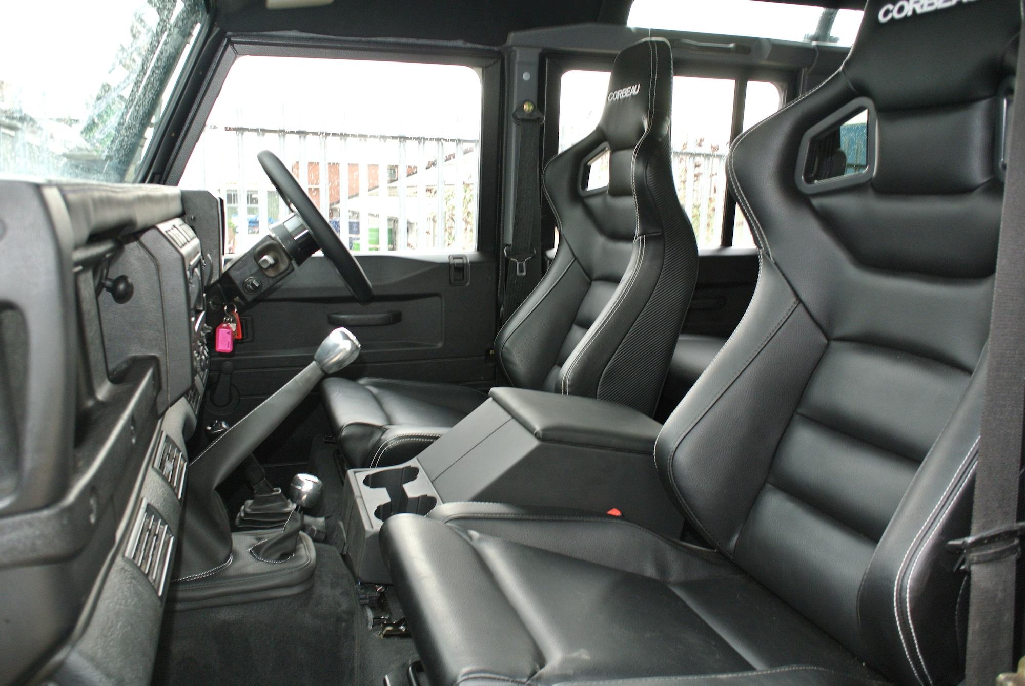 CORBEAU VINYL SEATS PAIR - HEATED £1680. STANDARD