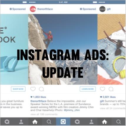 Insta ads update
