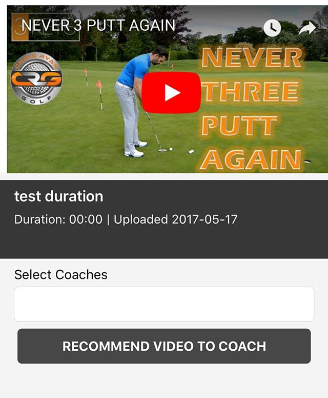 Have your students recommend media to you. #golflessons #golfcoaching #pga #sportech