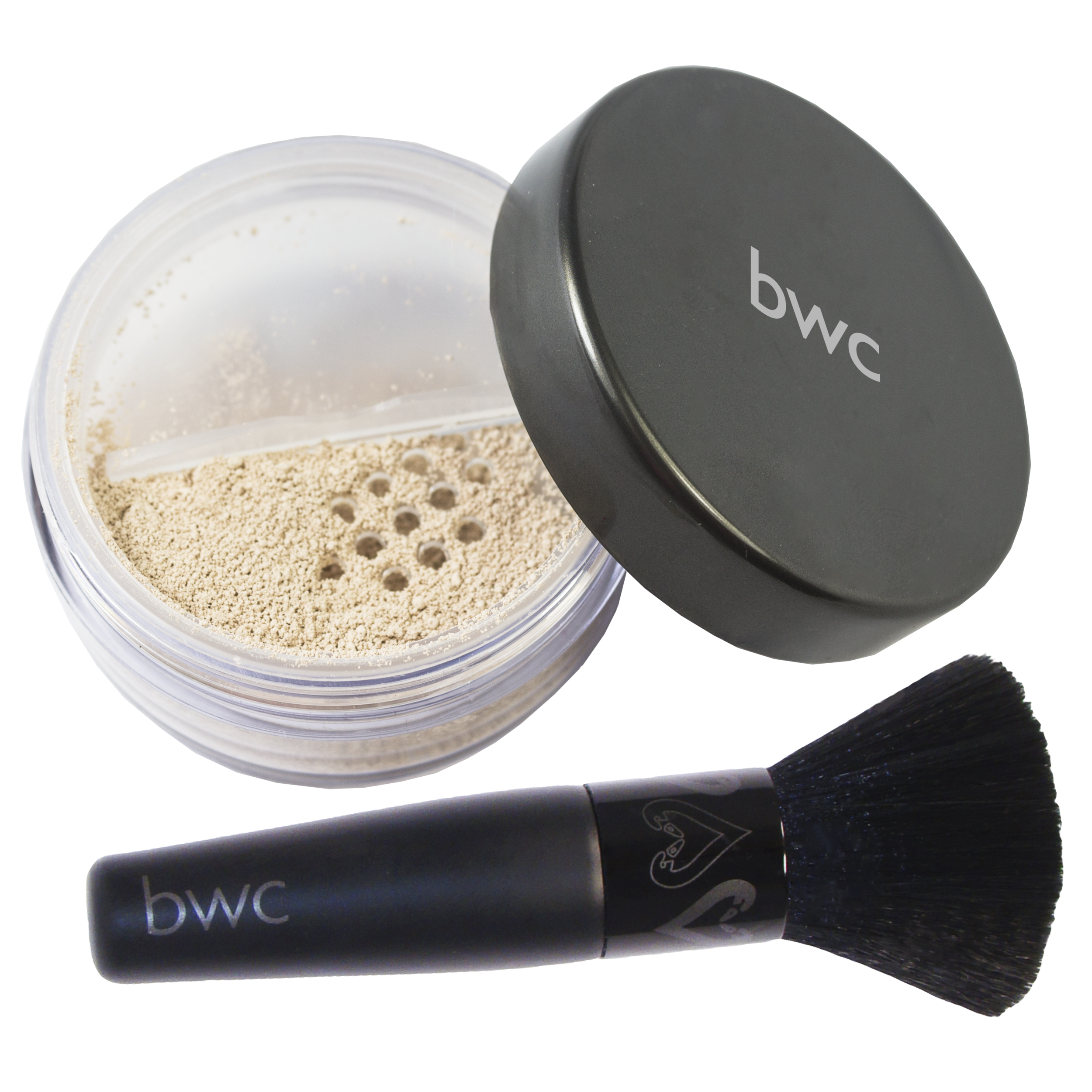bwc Powder Foundation Pale Fox open with mesh and Brush (1 of 1).png