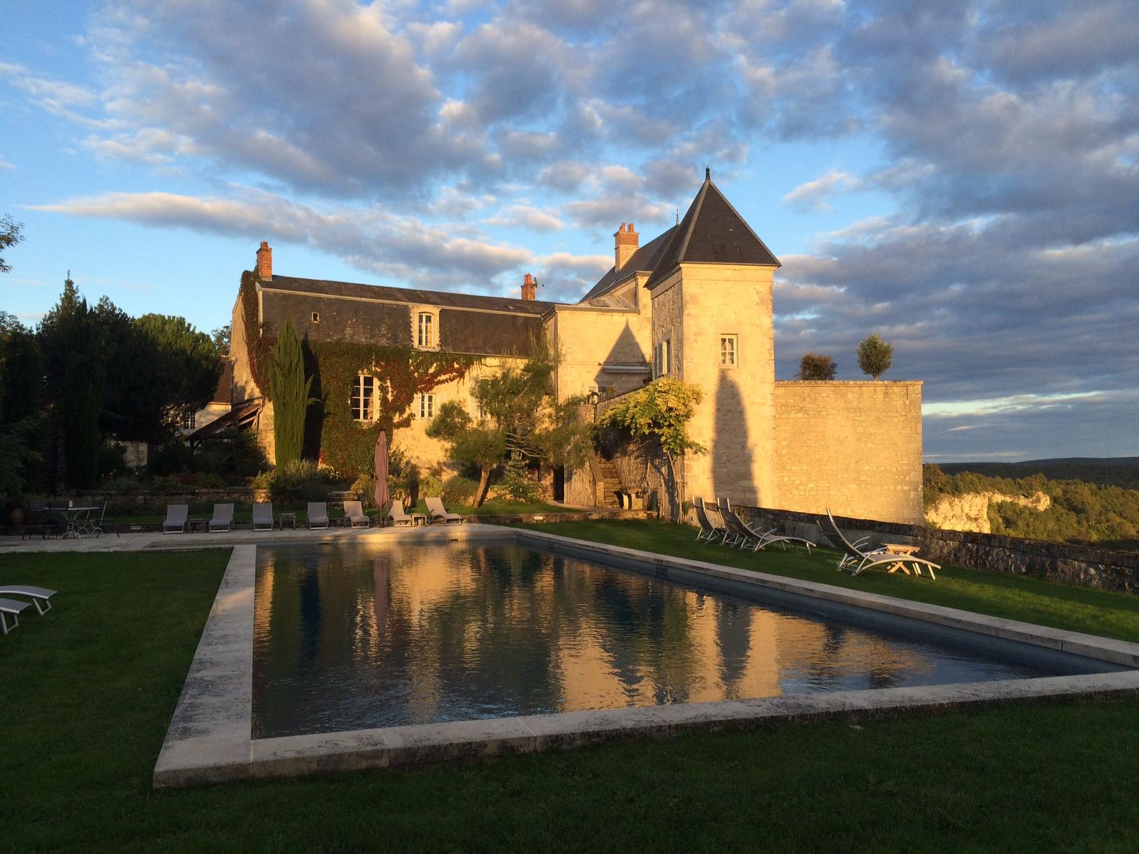 Chateau_Pool Horizontal_Sunset.jpg