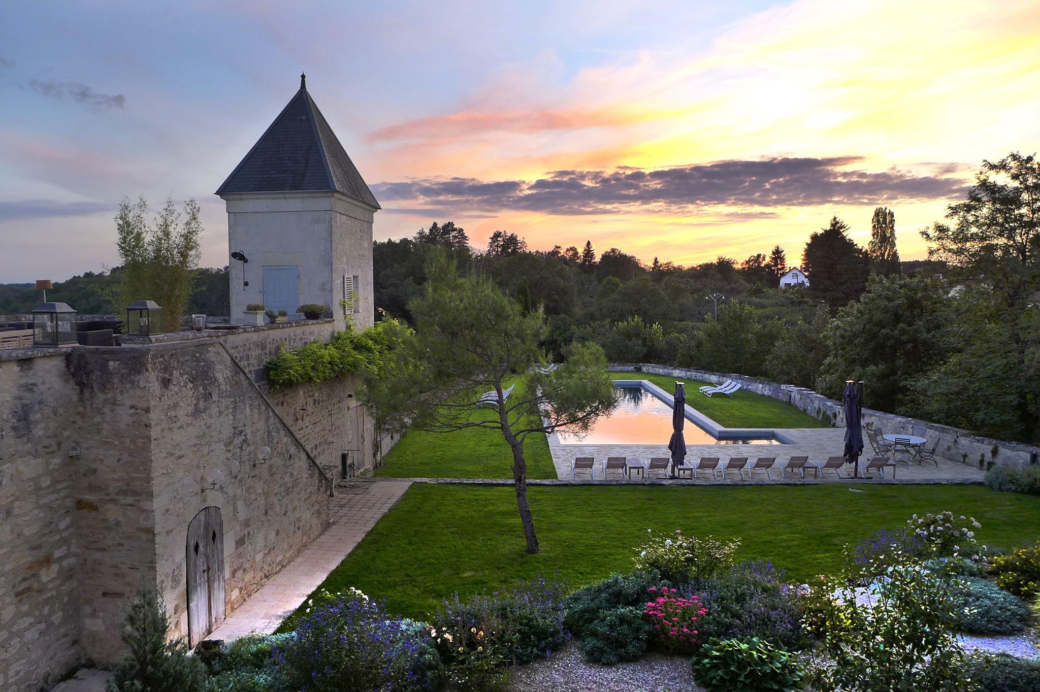 Chateau_Pool Garden_ Sunset.jpg