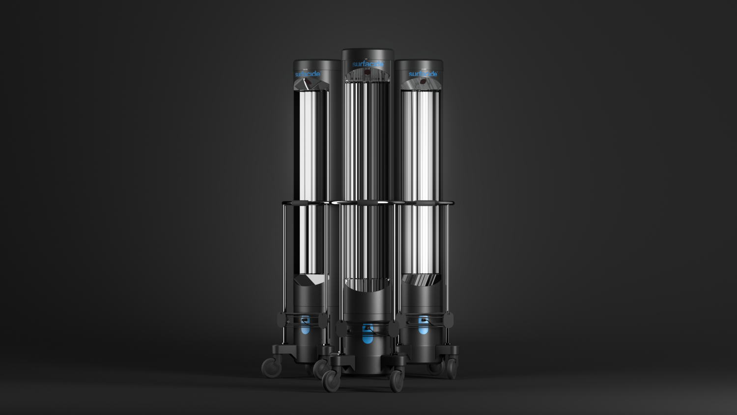 Surfacide UV-C disinfection system