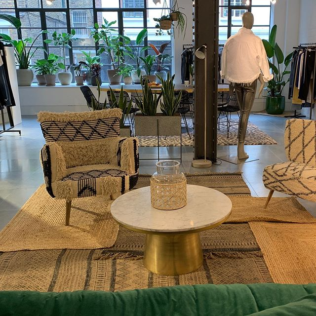 @jbrandjeans showroom moments ,  really enjoyed creating an oasis of cool and calm in Marylebone for these wonderful people