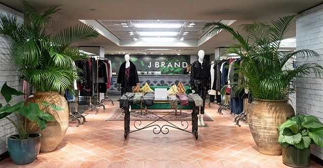 @jbrandjeans at @harrods fashion lab #producedbypicnic #jbrandjeans #chateaumarmont