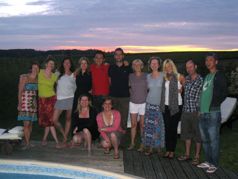 Yoga Retreat in France July 2012