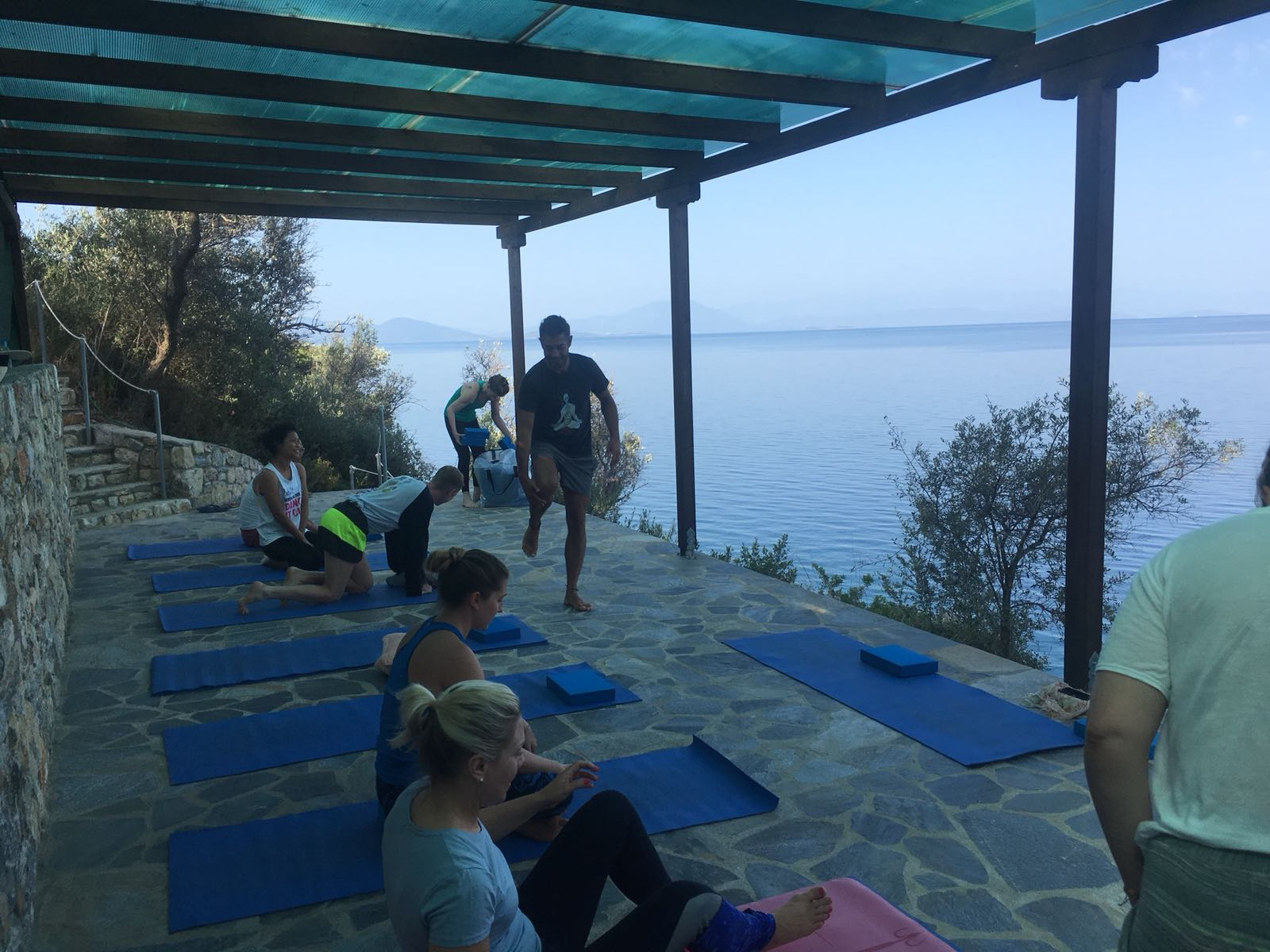 Greece Yoga Retreat 2018
