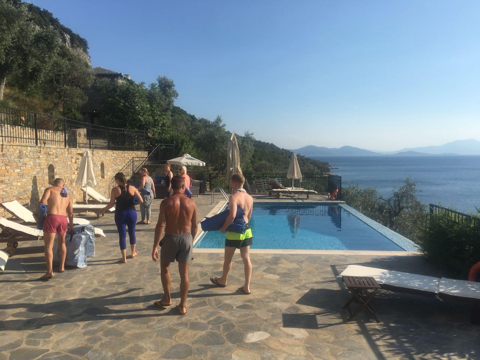 Greece Yoga Retreat 2018