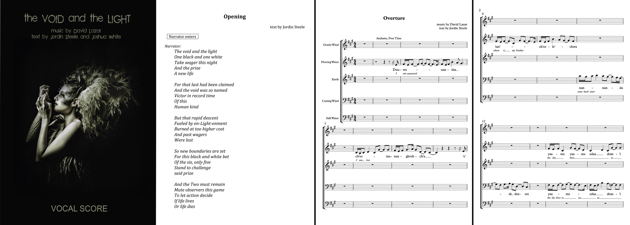 View the Vocal Score