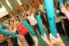 Boomwhacker Team Building Challenge Events