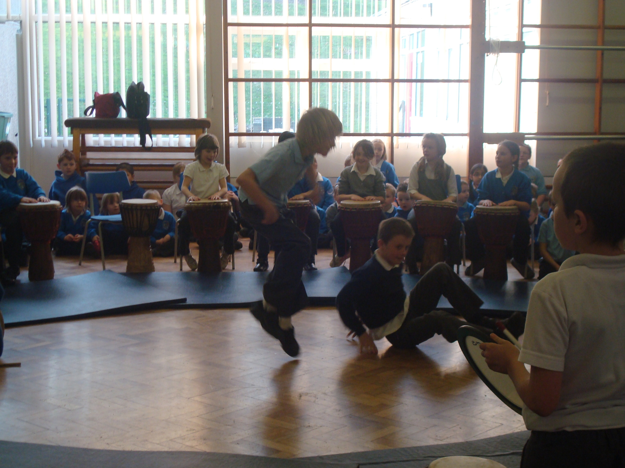 School African drumming workshops to dance for!