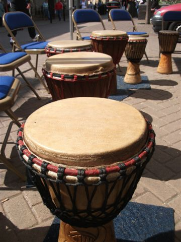 Drumming in Barnsley
