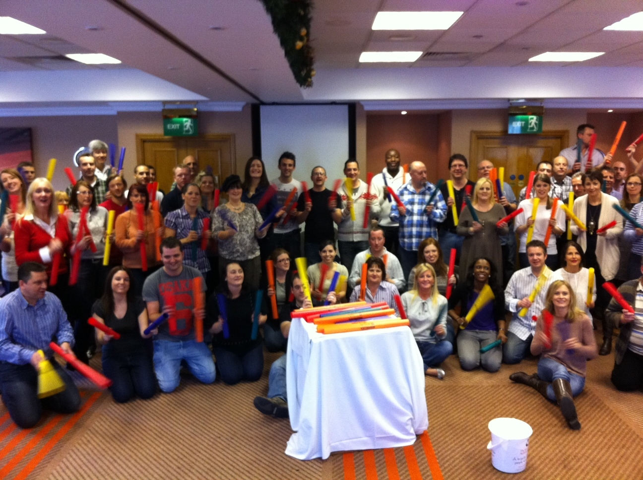 Corporate drumming ice breaker events in Oxfordshire and Liecestershire
