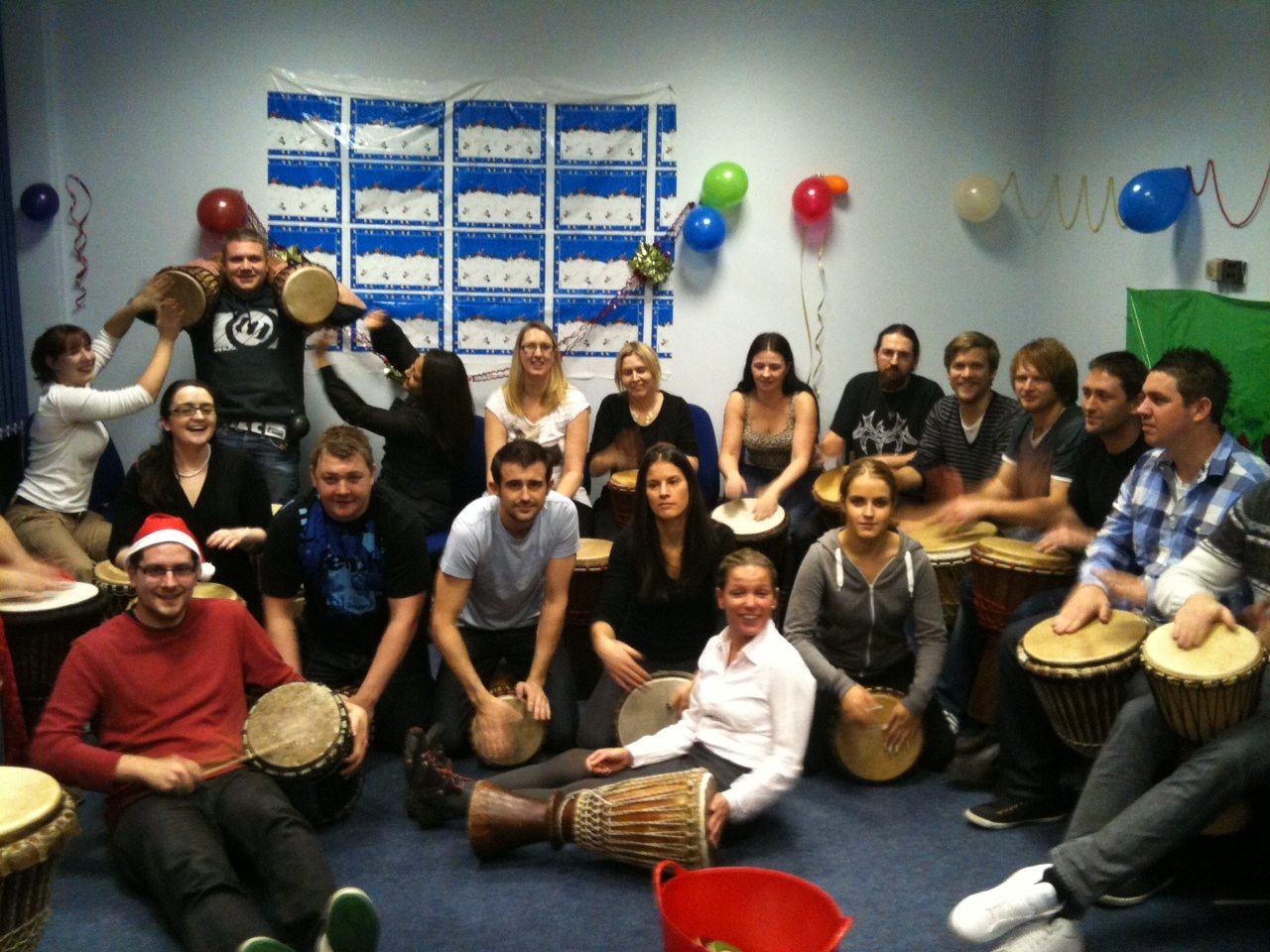 Drumming Team Building in Sheffield and South Yorkshire