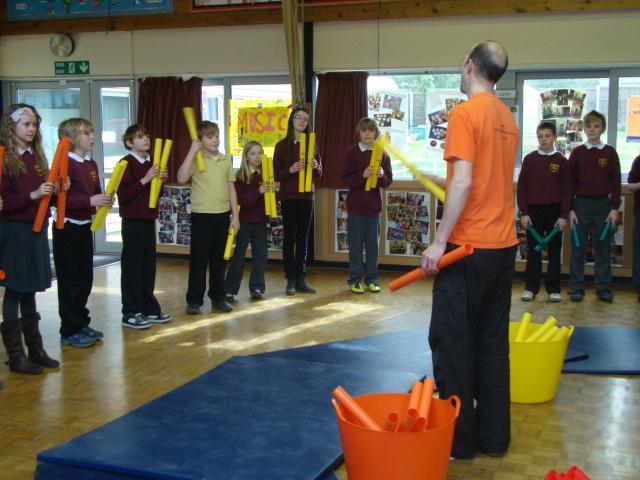 School Boomwhacker Workshops