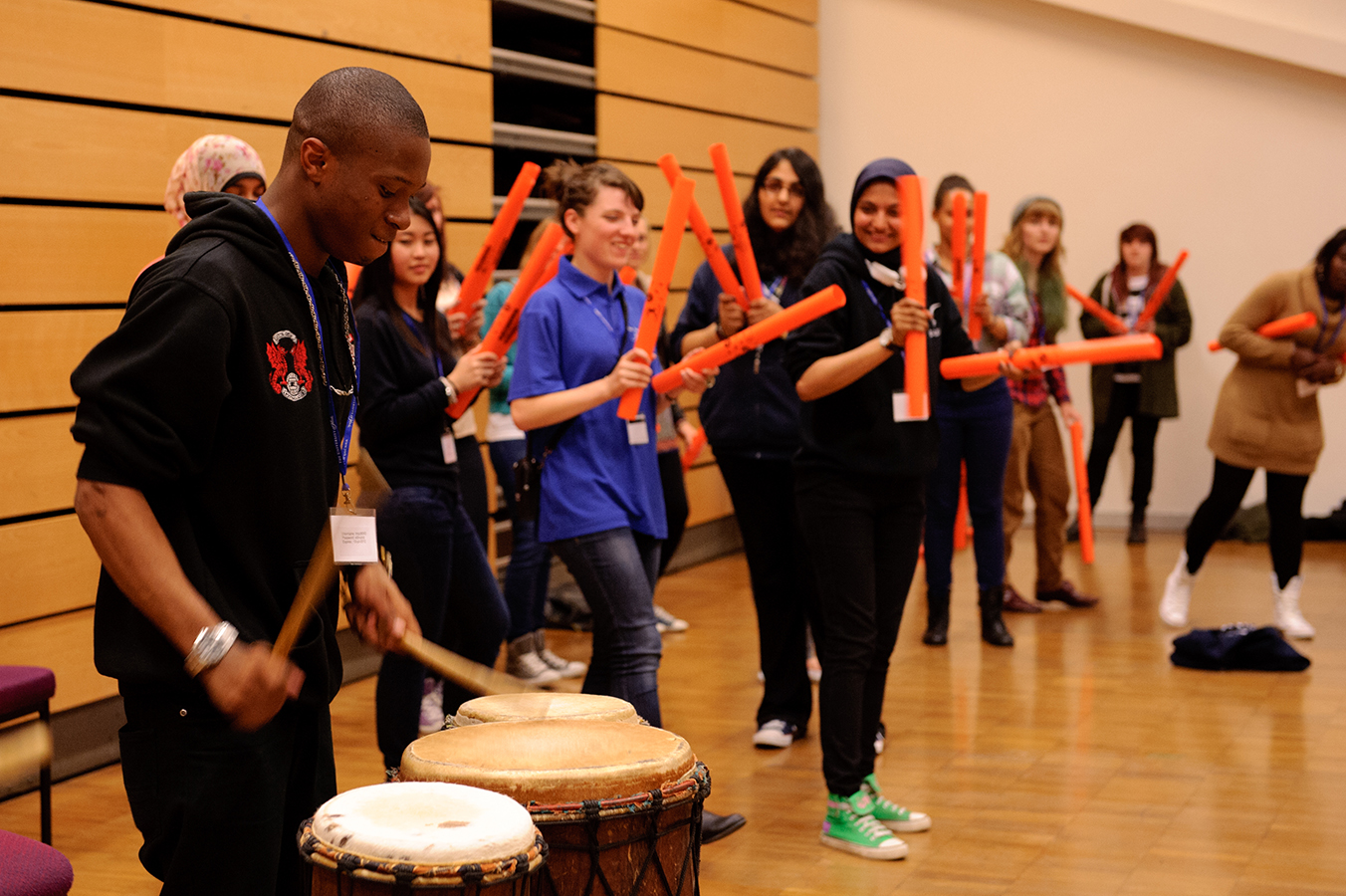 African Drumming Workshops and Performances for University freshers Events